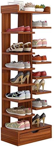 Ranura de calzado ajustable Organizador de zapatos Zapato estante zapatería estante con...