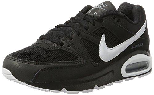 Nike Air Max Command, Baskets Mode Homme, Noir (Black/White/Cool Grey), 42.5 EU