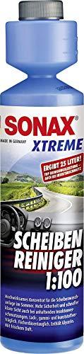 SONAX XTREME ScheibenReiniger 1:100  (250 ml) sorgt sekundenschnell für klare Sicht | Art-Nr. 02711410