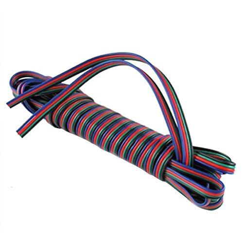 Mintice Trade; 2 5 10 20 30 50 M 4-pins RGB verlengkabel lijn kabel voor LED strip 5050 3528 licht lamp