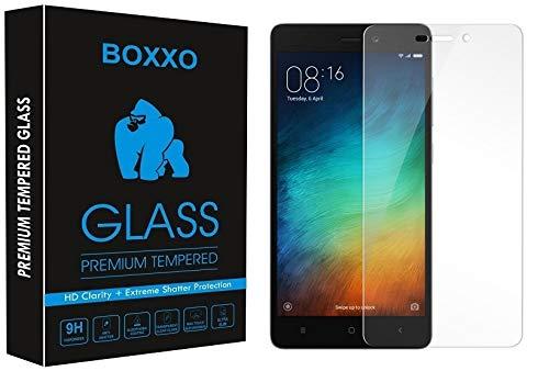 Boxxo Screen Protector for Mi Redmi 4 [Tempered Glass Guard] [Gorilla] Easy Installation [Anti FingerPrint]