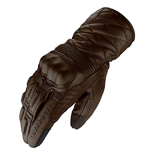 ON BOARD Guantes 60s Classic,UNISEX,M,Marrón