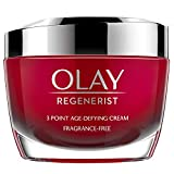 Olay Regenerist 3 Point Firming Anti-Ageing Cream Fragrance Free with Hyaluronic Acid, 50