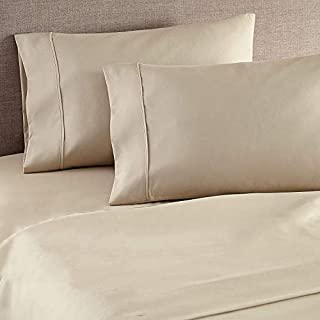 LINENWALAS Cotton 400 TC Pillow Cover, 17 x 27 Inch, 2 Pieces