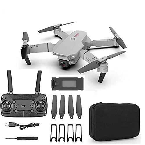 Faltbare Drohne mit 4k Kamera RC-Quadcopter Mit Doppelkamera 120°Weitwinkel,Follow-Me,App Steuerung,16 Minuten Flugzeit,RC Quadrocopter Faltdrohne für Anfänger