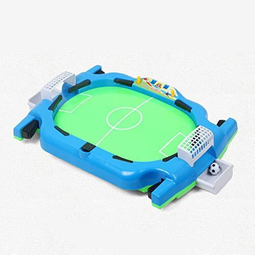 QIUXIANG-EU Mini Tischplatte Fußball Brettspiel Spiel Heimspiel Geburtstagsgeschenk Spielzeug Fußballtische Fußball mit 2 kleinen Fußbällen