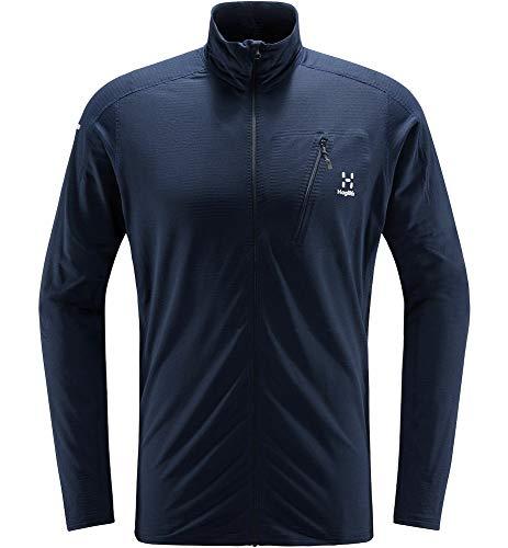 Haglöfs Fleecejacke Herren Fleecejacke L.I.M Mid Jacket Wärmend, Atmungsaktiv, Stretch Beweglich Small Tarn Blue M M Medium