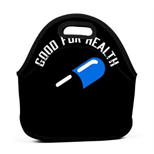 Capsule Bad For Education Borsa da pranzo riutilizzabile Borsa da picnic impermeabile