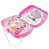lahomia 女の子のための化粧品ジュエリーボックスメイクアップキット、化粧品美容セットロールプレイおもちゃ