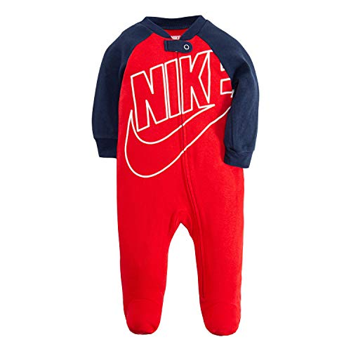 Nike - Mono deportivo para niña -  Rojo -  9 meses