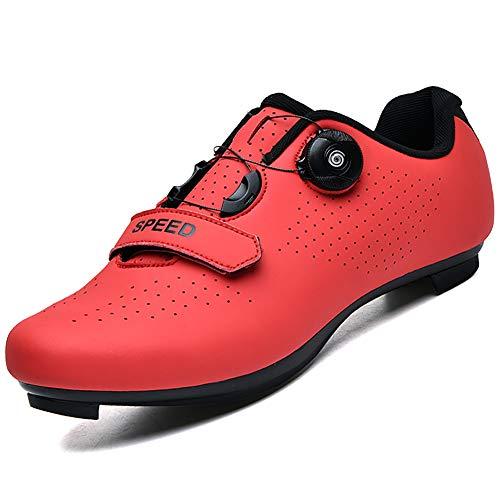Calzado de Ciclismo para Hombre, Mujer, Ciclismo de Carretera, Calzado para Montar,...