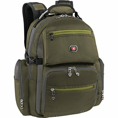 SwissGear Breaker Laptop Backpack with 16' Laptop Pocket & 10' Tablet Pocket
