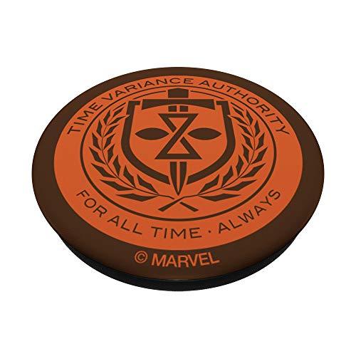 Marvel Loki Time Variance Authority Badge PopSockets PopGrip: Impugnatura per Telefoni Cellulari e Tablet Intercambiabile