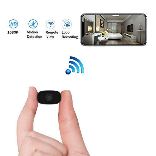 Why Choose Hidden Cameras HUOMU Mini spy cam 1080P HD Wireless WiFi Cameras Remote View Video Record...