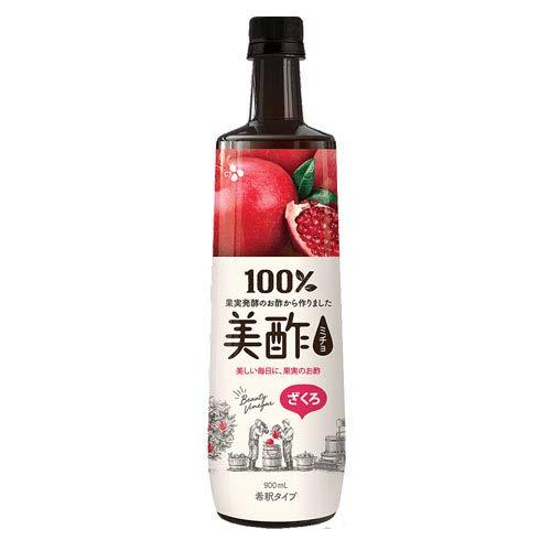 韓国で定番の飲むお酢【プティチェル美酢ざくろ】(900ml)