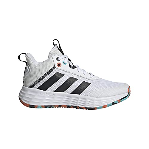 adidas OWNTHEGAME 2.0 K, Zapatillas, FTWBLA/NEGBÁS/NARAUT, 35.5 EU