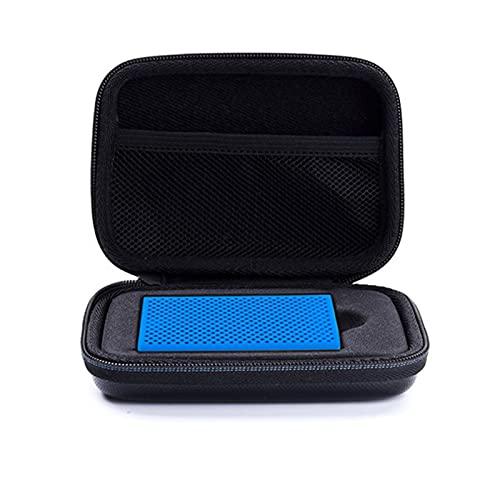 ZHANGAIGUO CCCZY Funda de Bolsa Dura Caja de Silicona portátil 25 0GB 500GB 1TB 2TB SSD USB 3.0 Unidades de Estado sólidas externas adecuadas para Samsung T5 / T3 / T1 (Color : Blue)