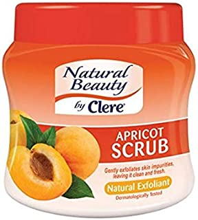 Clere Natural Beauty Apricot Scrub