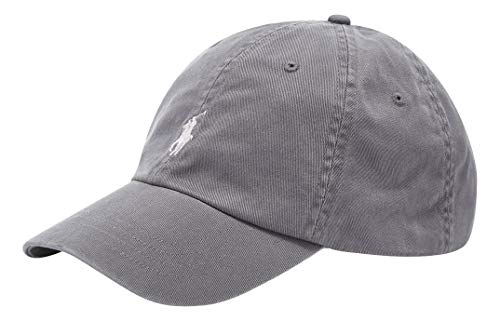 Gorra de algodón para hombre (gris)