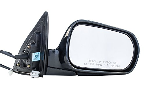 Dependable Direct Right Passenger Side Unpainted Non-Heated Folding Power Operated Door Mirror for Honda Accord (Sedan Only) (1998 1999 2000 2001 2002) HO1321125