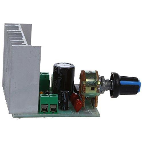 SODIAL (R) AC / DC 9V-15V / 12V 15W + 15W TDA7297 Versione B doppio canale Amplificatore Modulo scheda