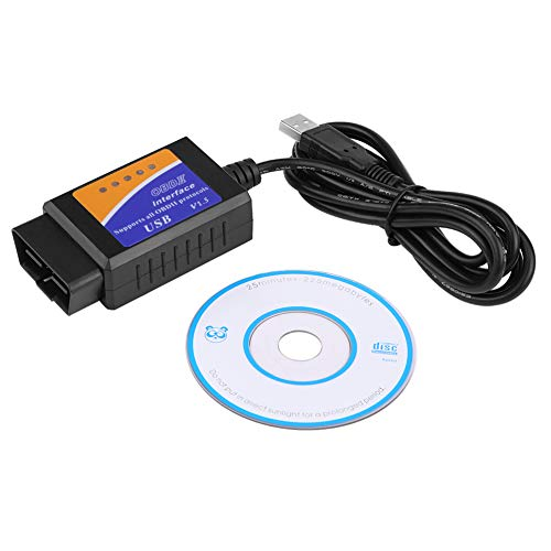 Herramienta de diagnóstico OBD-II con conector USB V1.5 OBD2 para coche, escáner de interfaz