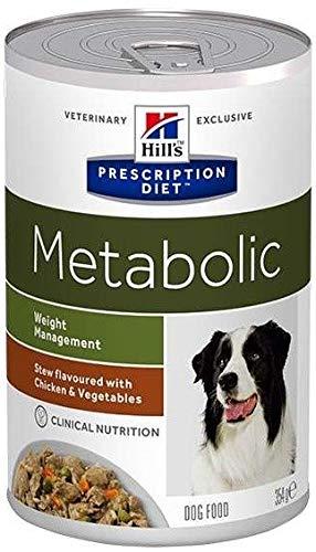 HILL'S PRESCRIPTION DIET Canine Metabolic Weight Manegement Spezzatino mit Hähnchen und Gemüse für Hunde 354 g