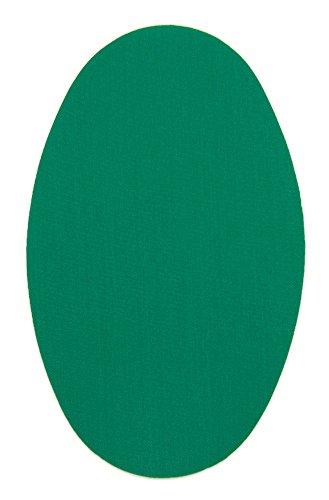 Haberdashery Online 6 Rodilleras Color Billar termoadhesivas de Plancha. Coderas para Proteger tu Ropa y reparación de Pantalones, Chaquetas, Jerseys, Camisas. 16 x 10 cm. RP16