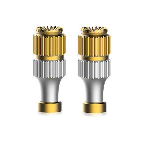 HSKB Kompatibel mit DJI Mavic Mini Fernbedienung Sender Teile CNC Aluminium Transmitter Joystick Daumen Stick rutschfeste Rocker Thumb Protector Halter Zubehör (Sender)