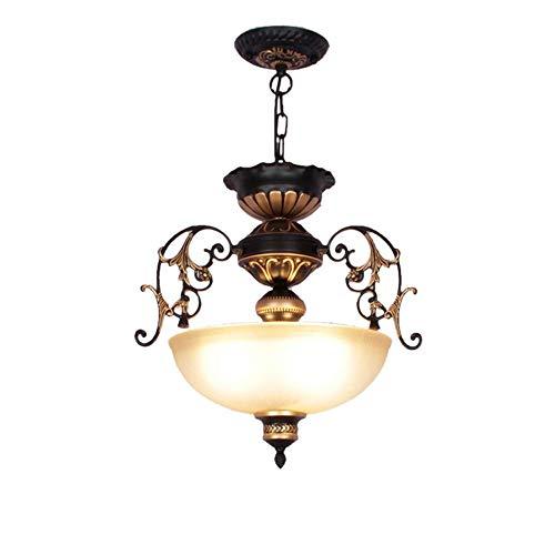 XJJZS 1 candelabro de iluminación de Cadena Colgar Aplique de Pared de Metal, Centro de Mesa for cenador Interior, decoración de Patio