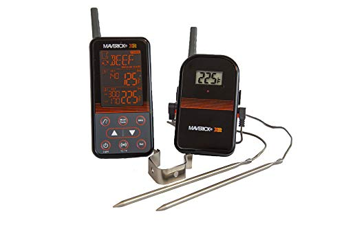 Maverick XR-40 Barbecue draadloze thermometer set zwart