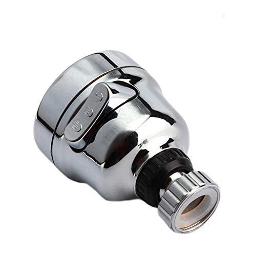 Aireador para grifo de agua con cabezal giratorio de 360 grados, ahorro de agua, grifo a prueba de salpicaduras, para cocina o baño