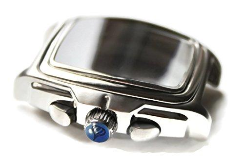POLJOT International Uhren-Gehäuse Chrono 222 Kaliber 3133 Edelstahl eckig