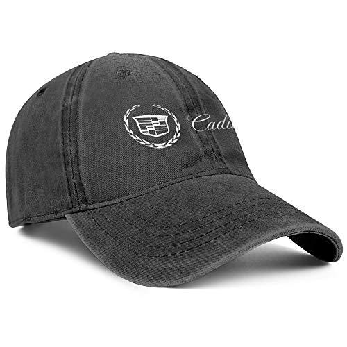 Men Fashion Denim Hats Dad Cadillac-Dealer-Near-me-for-Sale- Vintage Baseball Cap Styles Womens Caps