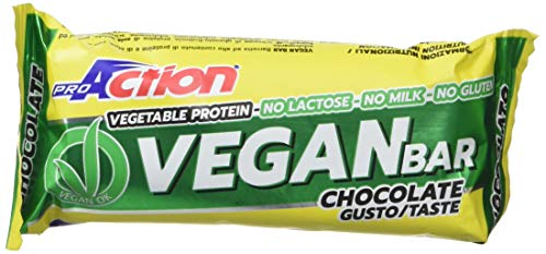 ProAction Vegan Bar (cioccolato, confezione da 20 barrette)