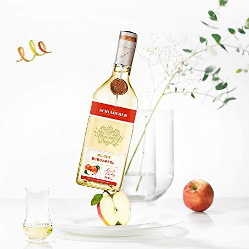 Schladerer Milder Bergapfel, feiner Digestif aus dem Schwarzwald, mild und fruchtig-frisch dank Äpfeln aus Höhenlagen (1 x 0.7 l) - 2