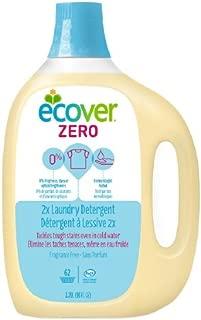 Ecover Liquid Laundry Detergent, 62 Loads, Fragrance Free 93 fl oz (2.79 L)