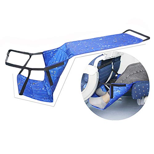 In hoogte verstelbare opblaasbare voetensteun, kinder/volwassenen vliegtuigreisvoethangmat, perfecte vliegtuigreisaccessoires