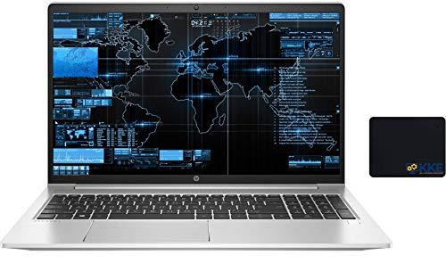 HP Newest ProBook 450 G8 Business Laptop, 15.6' Full HD Screen, 11th Gen Intel Core i5-1135G7 Processor, Iris Xe Graphics, 16GB RAM, 512GB SSD, Backlit Keyboard, Windows 10 Pro, Silver, KKE Mousepad
