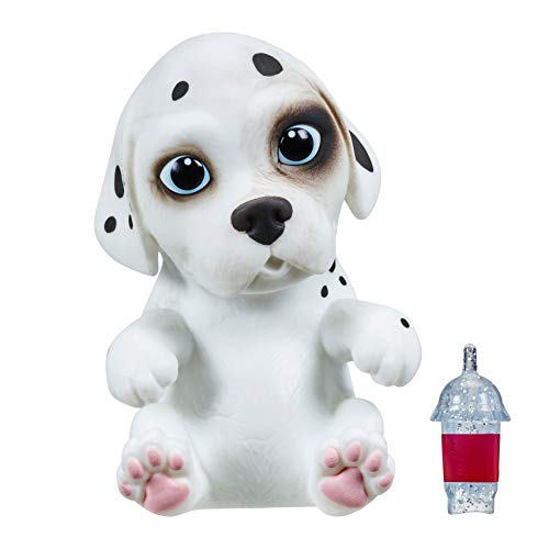 OMG Pets - Soft and Squishy Interactive Tactile Puppy Comes to Life, Cries and Eats - Dalmatian