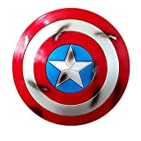 Capitan America Scudo Supereroe Scudo,Materiale ABS,Edizione Film Portatile1: 1 Avengers Marvel Prop Giocattolo Replica Serie Legends Scudo Modello di Puntelli Portatili C,58cm