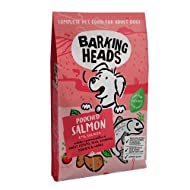 Barking Heads Dry Dog Food - Pooched Salmon - 100% Natural Salmon with No Artificial Flavours, Good ...