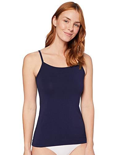 IRIS & LILLY Damen Schlafanzugoberteil , 2er Pack, Mehrfarbig (Grey/Navy), XL, Label: XL