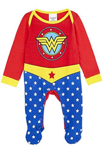 DC Comics Wonder Woman Disfraz Bebe Niña, Ropa Bebe Niña