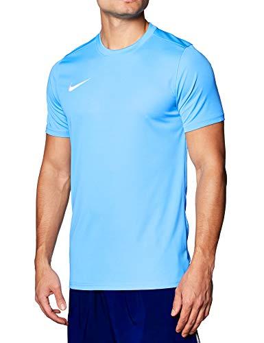 NIKE M Nk Dry Park VII JSY SS Camiseta de Manga Corta, Hombre, Azul (University Blue/White), L