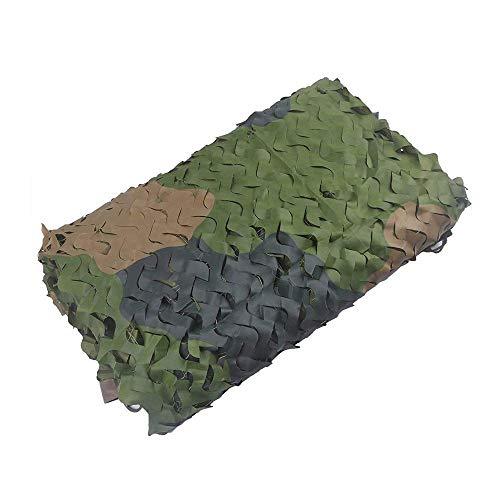 AI LI WEI Multi Purpose Sunshade Camouflage Net Mountain Mode Camouflage Net Tent Doek Zonnescherm Geschikt voor Tuindecoratie Fotografie Multi-size Optioneel (Maat: 3 * 3m) Tarpaulin 3 * 5m