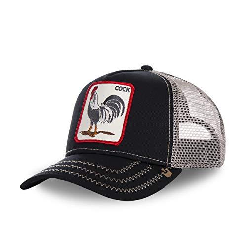 Goorin Bros–Gorra con gallo de camionero, en color negro para hombre/mujer negro...