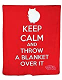 Bravest Warriors Catbug Microplush Blanket - Keep Calm and Throw a Blanket Over It - From the Creator of Adventure Time