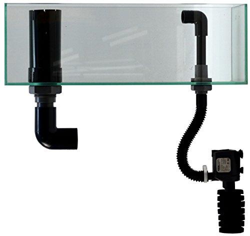 ジュン (JUN) 水槽 V2ポンプ付きスレンダー オーバーフローセット 450 50Hz地域用