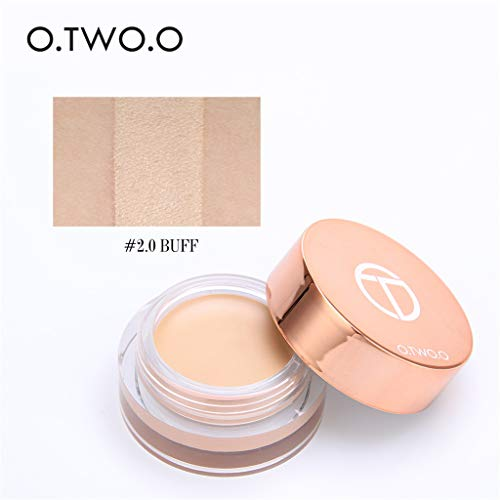 Nourich Eyeshadow Base Concealer Brighten Cosmetics, Waterproof Eye Makeup Base Cream Anti Wrinkle Moisturising Cream Reduce Fine Lines painterly paint pot eyeshadow Foundation cream (B)